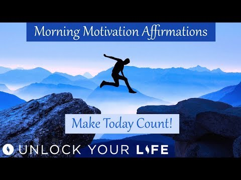 Morning Motivation Affirmations - Make Today Count, Take Action for Your Success!