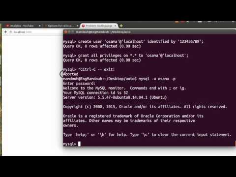 Rails Application With Mysql Database By Example