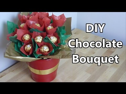 Chocolate Bouquet | NERDI diy