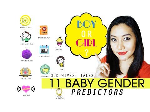 Boy or Girl? l 11 Baby Gender Predictors ~ Old Wives' Tales ~ Free Printable Download @Mollerful