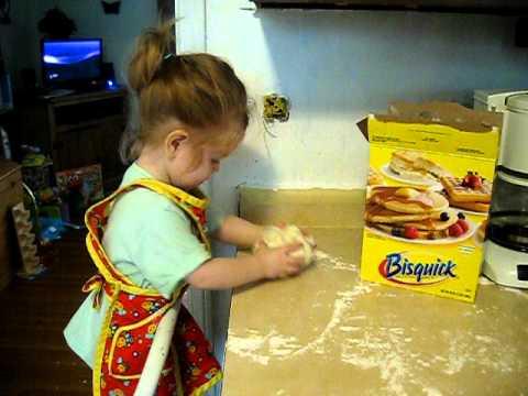 Making Bisquick Biscuits