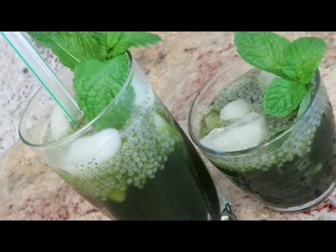 Vietnamese pennywort juice (nuoc rau ma)