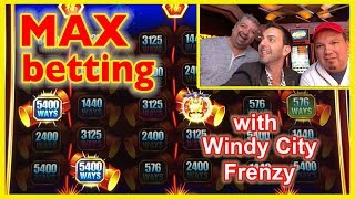 💰Max Betting on QUICK HITS with my Boys, WCF! 😘😎😎 ✦ Brian Christopher Slots