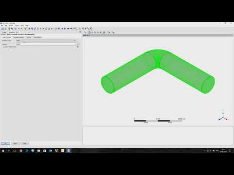 Tutorial ANSYS CFX | How to calculate losses head in pipeline?