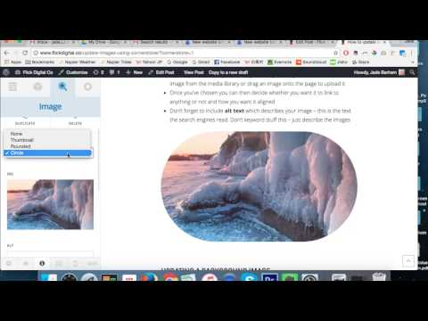 How to update images using Cornerstone