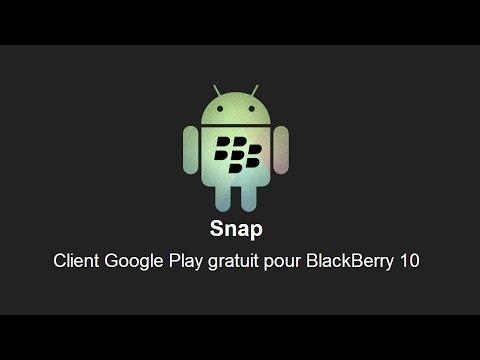 Télécharger et installer Snap - Addicts à Blackberry 10