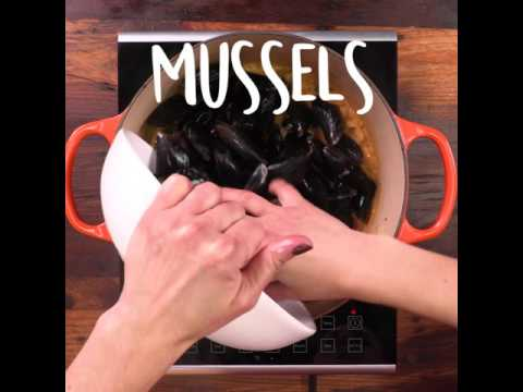 How to Make Curried Coconut Mussels | MyRecipes