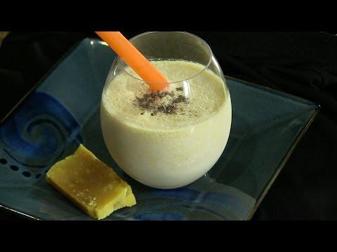 Mithai (Burfi) Milkshake - Sweet Indian Drink Recipe