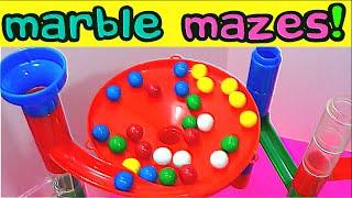 Marble Maze Runs!