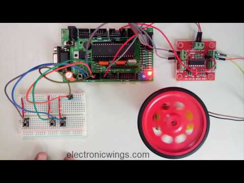 Speed Control of DC motor using 8051 Microcontroller