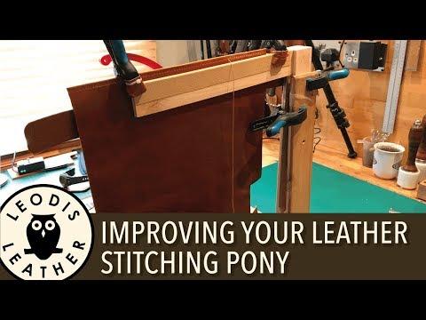 Improving Your Leather Stitching Pony 4K