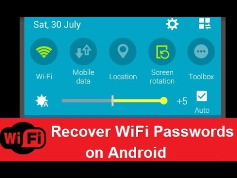 How to Recover WiFi Passwords on Any Android Device