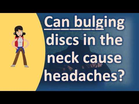 Can bulging discs in the neck cause headaches ? | Best Health FAQ Channel