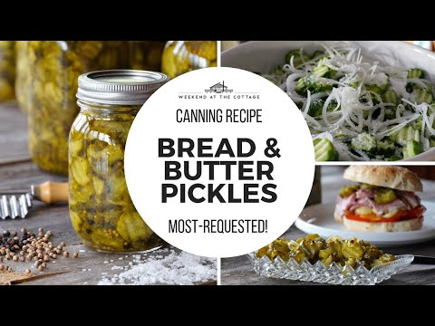 The best BREAD & BUTTER PICKLES!
