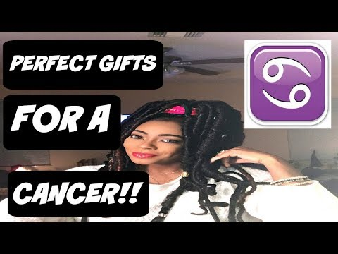 WHAT TO GET YOUR CANCER MAN   SOHNJEE
