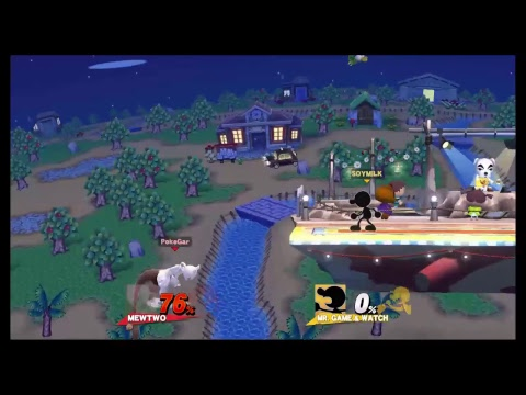 Streaming Sm4sh with Throhnado and Chandelureisonfire