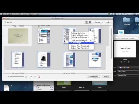 Combine Multiple Files into a Single PDF