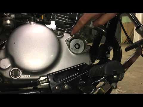 How to Change Oil Kawasaki Eliminator 125