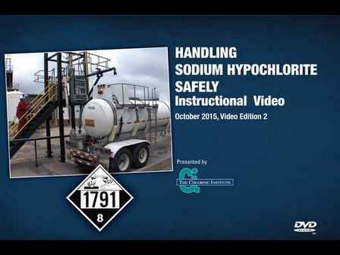 HYPO-DVD) Handling Sodium Hypochlorite Safely