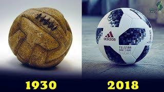 #x202b;شاهد كيف تطورت كرة القدم من كأس العالم 1930 حتى كأس العالم 2018..!!#x202c;lrm;