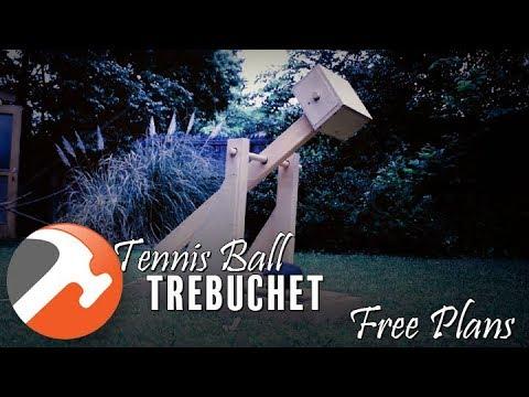 Tennis Ball Trebuchet
