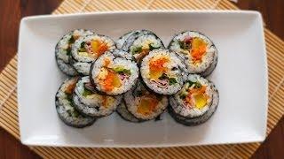 Download [Eng Sub]紫菜包饭 How to Make Korean Kimbap Video