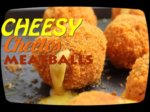 THE VULGAR CHEF - Cheesy Cheetos Meatballs