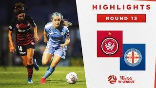Highlights: Western Sydney Wanderers v Melbourne City – Round 13 Westfield W-League 2019/20 Season