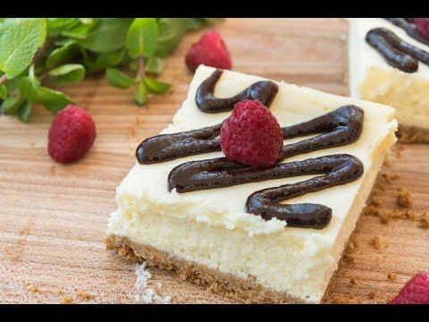 Chocolate Ganache Cheesecake Bars