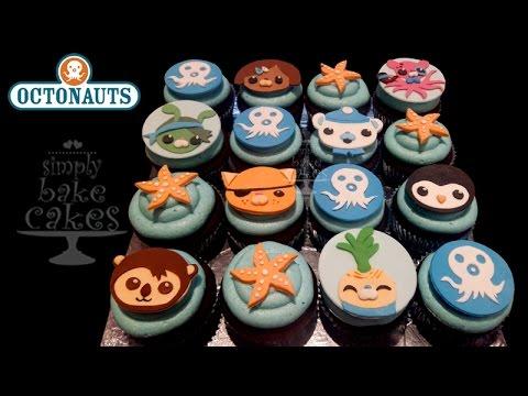 OCTONAUTS cupcake topper TUTORIAL