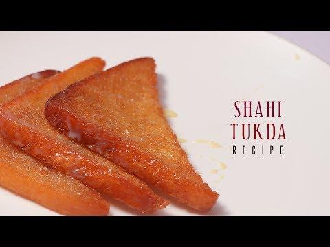 Shahi Tukda Double ka meetha Homemade Sweet  Bread Pudding by Cooking Simplified