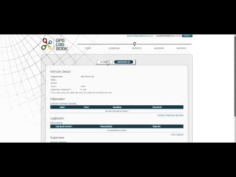 GPS Log Book - How to generate a SARS compliant logbook.