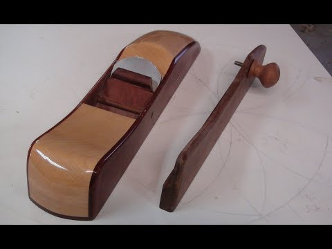 Wooden Handplane Fence - Setup Jointer