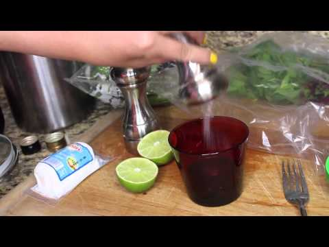 Summer Favorites: Homemade Sangria & Fresh Salad