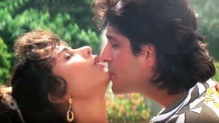 Chunkey Pandey, Somy Ali | Kya Aankhen Hai | Alka Yagnik, Abhijeet | Teesra Kaun | Romantic Song