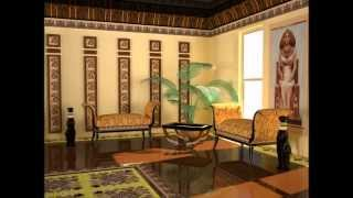 modern ancient egyptian design style