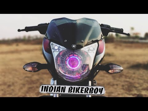 Install LED Projector Headlight in any Bike