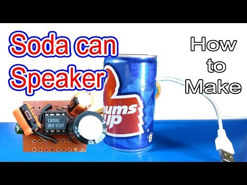 Simple audio amplifier box using ic lm 386 | How to make