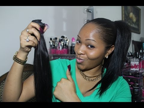 How To: High & Low Ponytail Using Clip In Extensions (VP Fashion)