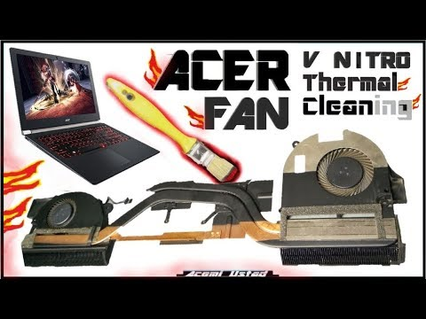 Acer Aspire Cleaning Fan [v17- v15 ] Temizleme ve macun değişim | Thermal Paste Work/Owerheating Cpu