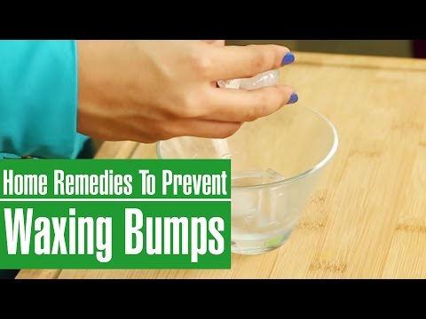 2 Simple Skin Care Remedies To Prevent  BUMPS & PIMPLES AFTER WAXING