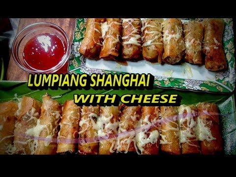 Lumpiang Shanghai with Cheese