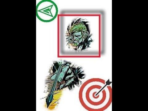 Green Arrow Hit Box Rock (2 Of 3)