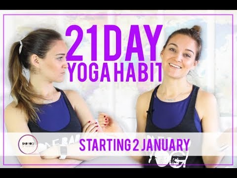 Get Ready for the 21-Day Yoga Habit!