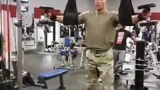 تمرین نظامی های آمریکا