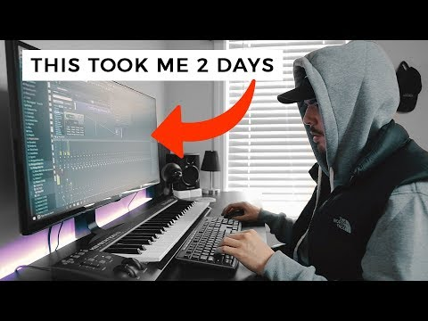 TWO DAYS OF BEAT MAKING! (Making Beats FL Studio 12)