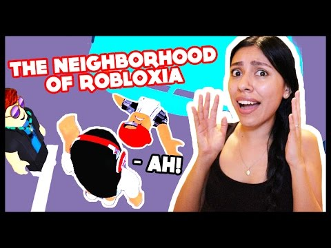 I RAN HIM OVER & KILLED HIM! - Roblox - The Neighborhood of Robloxia