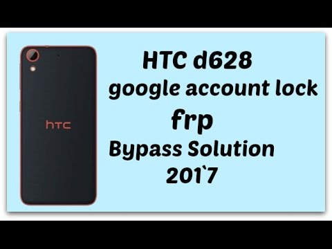 HTC D628 FRP/Google account lock BYPASS TRICK EASY 100% WORKING