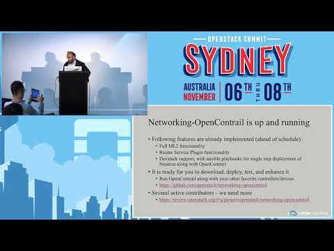 Integrating OpenContrail into the OpenStack Neutron Stadium