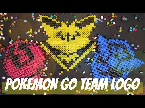 Pokemon Go Perler Beads Logo #TeamInstict - NerDIY